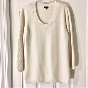 Talbot's XL off white angora sweater. Perfect